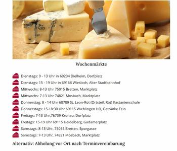 Aktuelle Broschüre von Allgäuer Käse Hexe