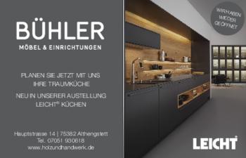 Aktuelle Broschüre von Bühler – Holz und Handwerk
