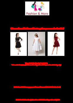 Aktuelle Broschüre von Fashion & More
