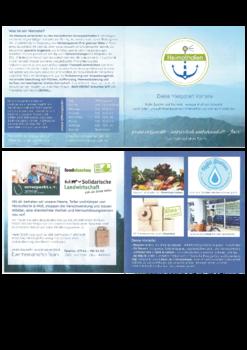 Aktuelle Broschüre von heimathafen