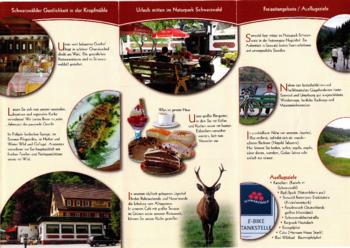 Aktuelle Broschüre von Jägerhof Kropfmühle