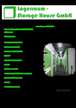 Aktuelle Broschüre von Lagerraum-Storage House