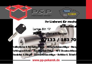 Aktuelle Broschüre von P&P Pekarek GmbH