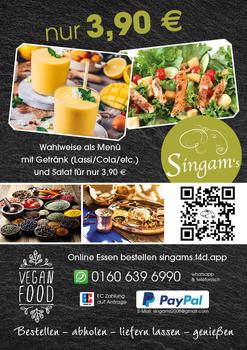 Aktuelle Broschüre von SINGAM'S
